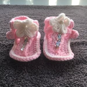 Other - Crocheted Baby Sandals